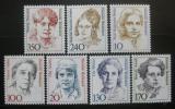 Poštovní známky Německo 1988 Slavné ženy, ročník