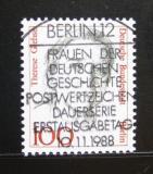 Poštovní známka Západní Berlín 1988 Theresa Giehse, herečka Mi# 825