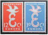Poštovní známky Nizozemí 1958 Evropa CEPT Mi# 718-19