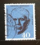 Poštovní známka Německo 1960 George C. Marshall Mi# 344