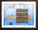Poštovní známka Rakousko 1986 Digitálni telefonní služba Mi# 1838