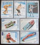 Poštovní známky Laos 1987 ZOH Calgary Mi# 965-71