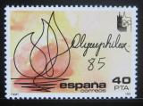 Poštovní známka Španělsko 1985 Výstava OLYMPHILEX Lausanne Mi# 2666