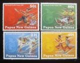 Poštovní známky Papua Nová Guinea 1991 Pacifické hry Mi# 636-39