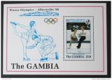 Poštovní známka Gambie 1992 ZOH Albertville Mi# Block 159