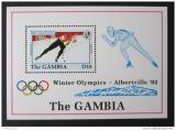 Poštovní známka Gambie 1992 ZOH Albertville Mi# Block 158
