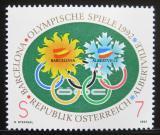 Poštovní známka Rakousko 1992 Olympijské hry Mi# 2048