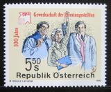 Poštovní známka Rakousko 1992 Odborový svaz v soukromém sektoru Mi# 2049