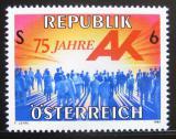 Poštovní známka Rakousko 1995 Zastoupení dělníků Mi# 2147