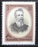 Poštovní známka Rakousko 1995 Josef Loschmidt, vědec Mi# 2163