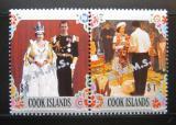 Poštovní známky Cookovy ostrovy 1978 Služební Mi# 27-28 Kat 14€