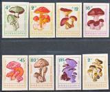 Poštovní známky Bulharsko 1961 Houby neperf. Mi# 1271-78