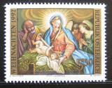 Poštovní známka Rakousko 1992 Náboženské umění, vánoce Mi# 2081