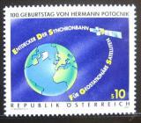 Poštovní známka Rakousko 1992 Oběh satelitů Mi# 2082