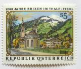 Poštovní známka Rakousko 1988 Brixen im Thale Mi# 1931