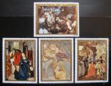 Poštovní známky Dahomey 1973 Umění Mi# 544-47