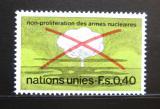 Poštovní známka OSN Ženeva 1972 Stop nukleárním zbraním Mi# 23