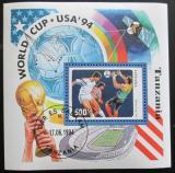 Poštovní známka Tanzánie 1994 MS ve fotbale Mi# Block 249