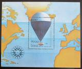 Poštovní známka Laos 1983 Lety balónem Mi# Block 94