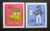Poštovní známky Německo 1966 Kongres FIP Mi# 516-17