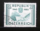 Poštovní známka Rakousko 1955 Výročí osvobození Mi# 1016