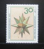 Poštovní známka Německo 1973 Vánoční hvězda Mi# 790