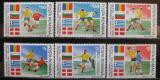 Poštovní známky Rumunsko 1990 MS ve fotbale Mi# 4586-91