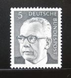 Poštovní známka Německo 1970 Prezident Heinemann Mi# 635