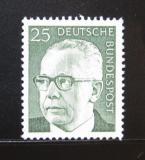 Poštovní známka Německo 1971 Prezident Heinemann Mi# 689