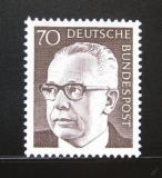 Poštovní známka Německo 1971 Prezident Heinemann Mi# 641
