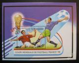 Poštovní známka Benin 1997 MS ve fotbale Mi# Block 26
