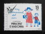 Poštovní známka Andorra Šp. 1979 Mezinárodní rok dětí Mi# 125