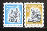 Poštovní známky Kanada 1968 Vánoce Mi# 430-31