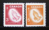 Poštovní známky Kanada 1966 Vánoce Mi# 395-96