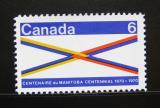 Poštovní známka Kanada 1970 Manitoba Mi# 449