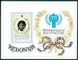 Poštovní známka Redonda 1979 Mezinárodní rok dětí Mi# Block 4