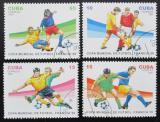 Poštovní známky Kuba 1997 MS ve fotbale nekompl. Mi# 4003-06