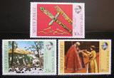 Poštovní známky Gambie 1977 Vláda Alžběty II.  Mi# 339-41