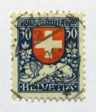 Poštovní známka Švýcarsko 1926 Erb Švýcarska Mi# 221