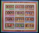 Poštovní známky Svatý Vincenc 1977 Králové Mi# Block 6