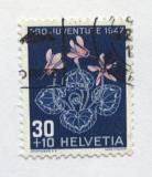 Poštovní známka Švýcarsko 1947 Cyclamen Mi# 491 Kat 9.50€