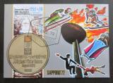 Poštovní známka Rovníková Guinea 1972 ZOH Sapporo Mi# Block 4