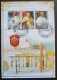 Poštovní známky Džibutsko 2014 Papeži církve římské