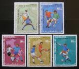 Poštovní známky Mauritánie 1990 MS ve fotbale Mi# 962-66