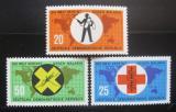 Poštovní známky DDR 1963 Boj proti malárii Mi# 942-44