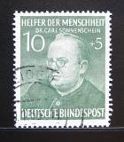 Poštovní známka Německo 1952 Dr. Carl Sonnenschein Mi# 157