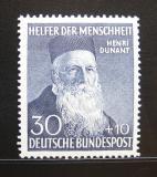 Poštovní známka Německo 1952 Henri Dunant Mi# 159 Kat 90€