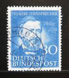 Poštovní známka Německo 1952 Philipp Reis, fyzik Mi# 161 Kat 18€