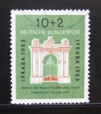 Poštovní známka Německo 1953 Palác Thurn a Taxis Mi# 171 Kat 28€