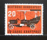 Poštovní známka Německo 1955 Starý automobil Mi# 211